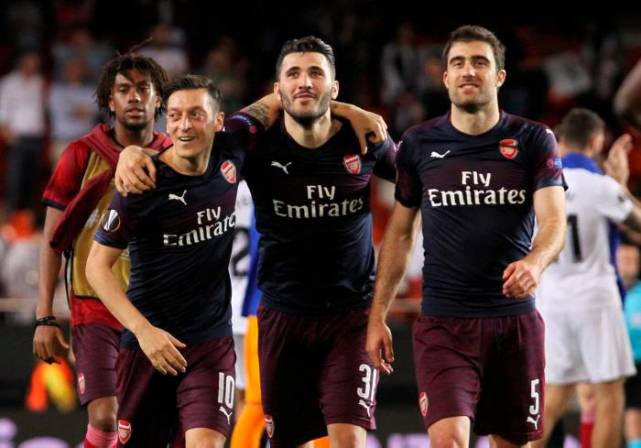 Arsenal y Chelsea, la Europa League también tendrá final inglesa