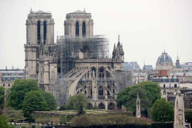 Autoridades francesas creen que el incendio en Notre Dame fue accidental