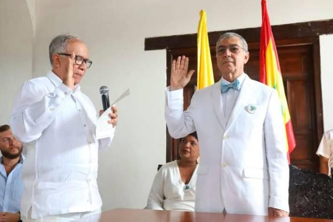 William Dau Chamatt se posesionó como nuevo alcalde de Cartagena