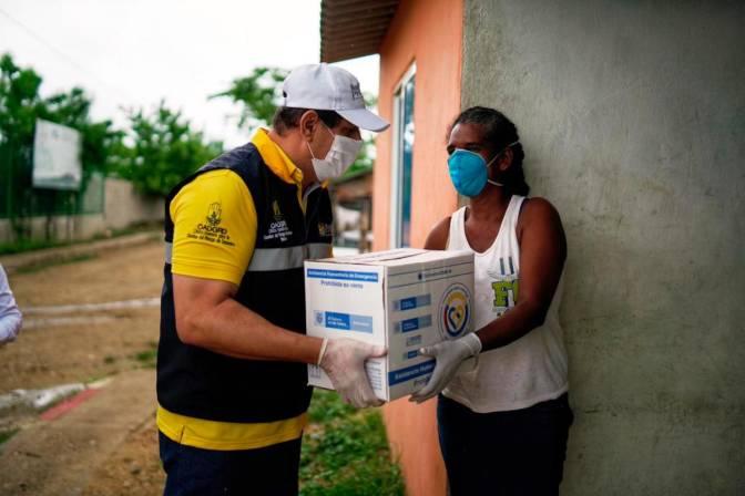 Víctimas del conflicto en Bolívar reciben ayudas humanitarias