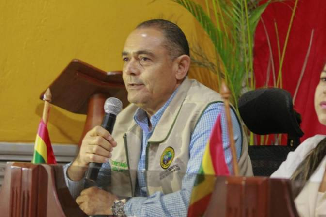William Valderrama, secretario de Hacienda.
