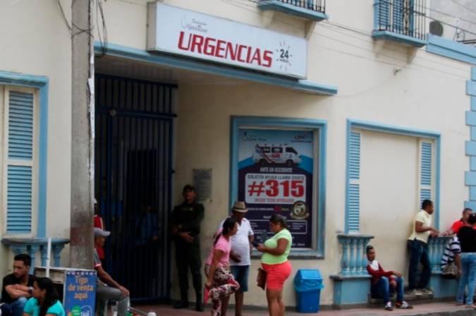 Paciente hizo tres disparos para escaparse de una clínica en Sincelejo
