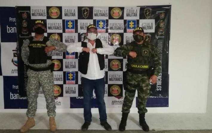 Gaula Militar rescata a empresario barranquillero en Bolívar
