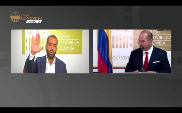 Char y Blanco ratifican que por ahora el Congreso seguirá sesionando  virtualmente | EL UNIVERSAL - Cartagena