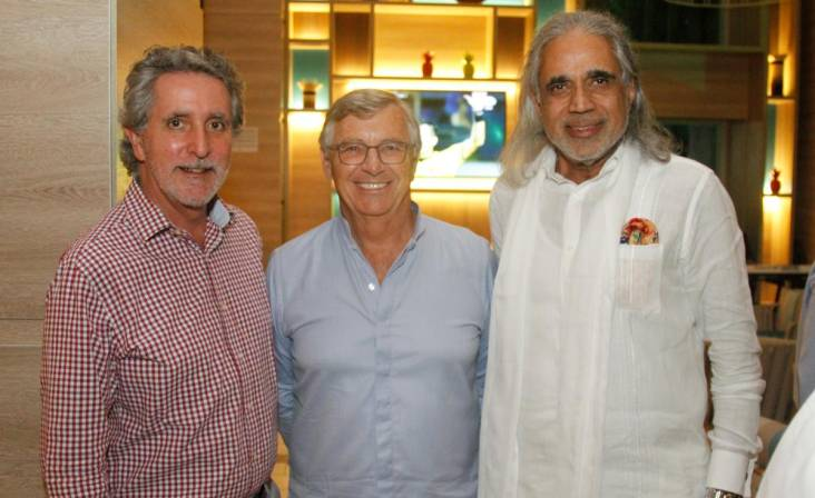 Francisco Montoya, Richard Launay y Vinod Agarwal.
