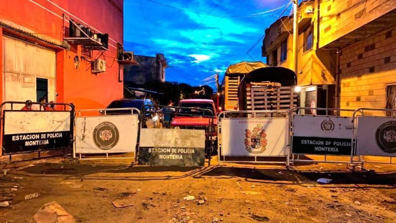 Cerrado el Mercado del Sur de Montería