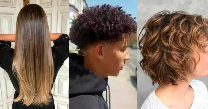 Secciones para corte de cabello