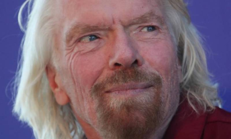 Richard Branson es el fundador de Virgin Atlantic.