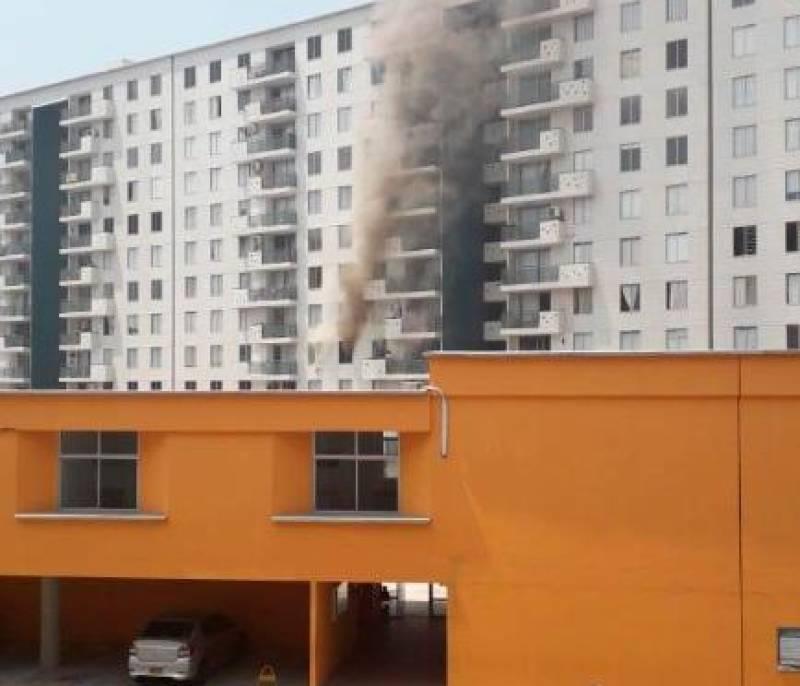 Incendio Causa Pérdidas En Un Apartamento De Terrazas De