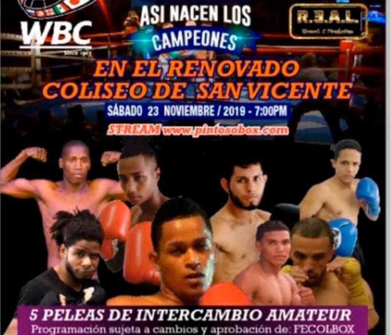 El Pintoso Box organiza cartelera para finales de noviembre en Sincelejo - El Universal - Colombia