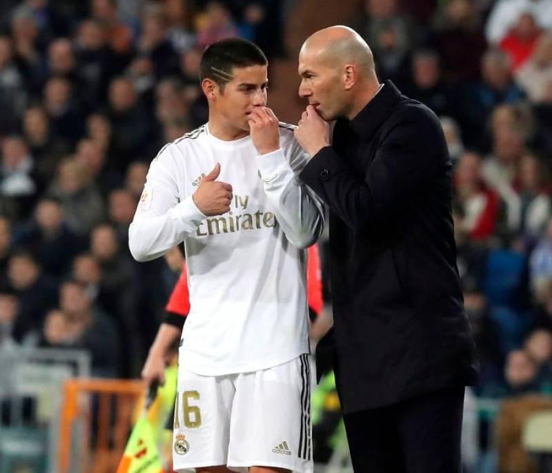 James, titular, no aprovechó su oportunidad en eliminación del Real Madrid | EL UNIVERSAL - Cartagena