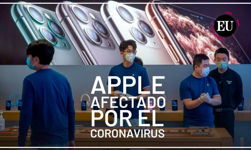 [Video] Apple admite que no obtendrá ingresos previstos ante el brote del coronavirus
