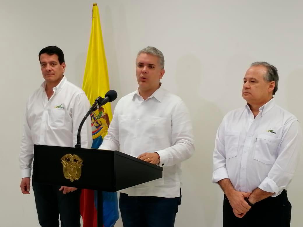 Felipe Bayón, Iván Duque y Amaury De la Espriella. // Oscar Díaz