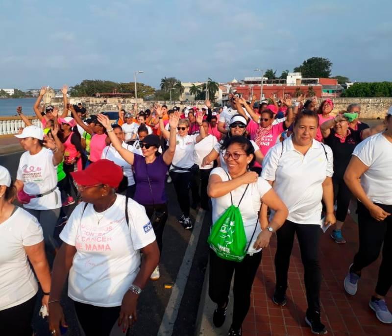 Cartageneras continúan conmemorando el Día de la Mujer | EL UNIVERSAL - Cartagena