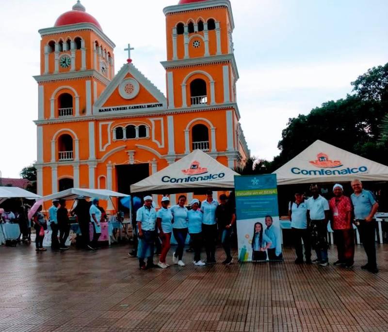 30 aprendices del Sena realizaron su primera feria gastronómica en El Carmen - El Universal - Colombia