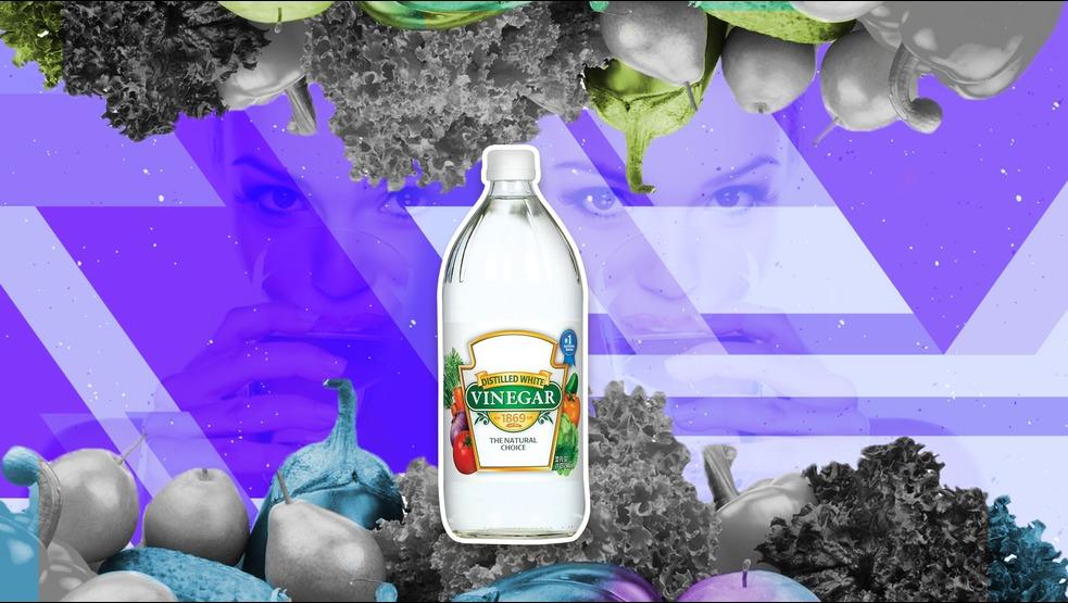 Los beneficios de beber vinagre