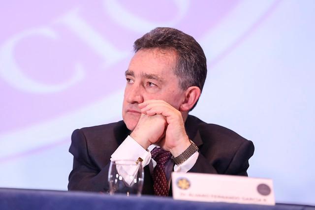 Álvaro Fernando García Restrepo, Presidente de Corte Suprema de Justicia. Colprensa