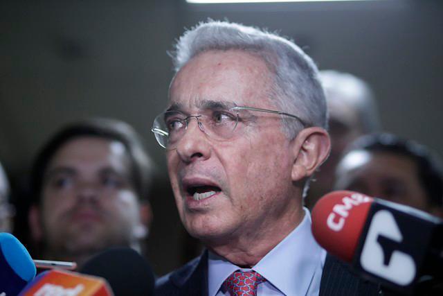 Álvaro Uribe Vélez. Colprensa