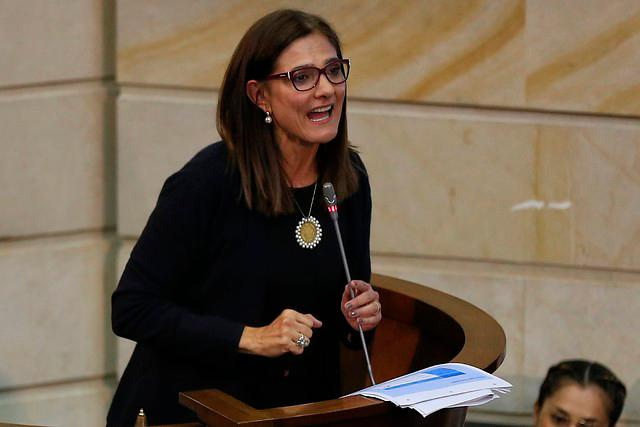 Angela María Orozco, ministra de Transpote.