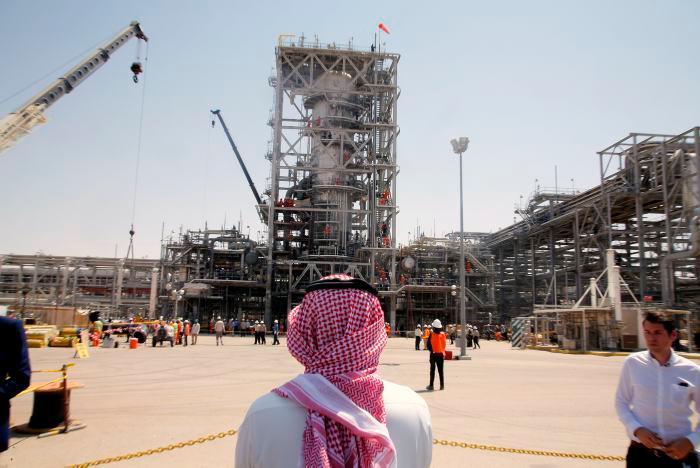 Campo petrolero en Khurais, Arabia Saudita. // AP