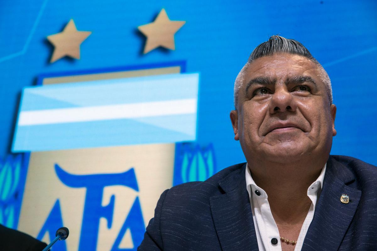 Claudio Tapia es sancionado por Conmebol. //AP