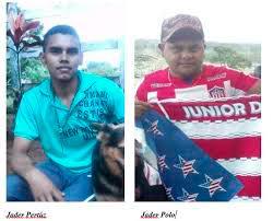 Jáder Pertuz y Jáder Polo, amigos asesinados en Uré.