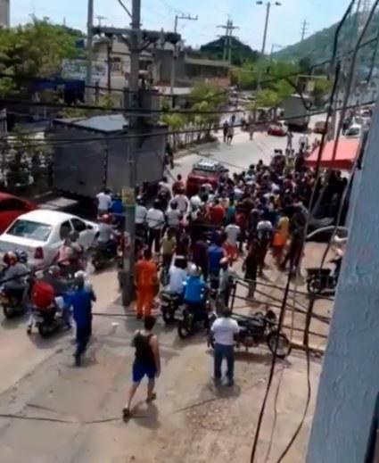 Los hechos ocurrieron cerca al barrio Martínez Martelo. // Captura de video