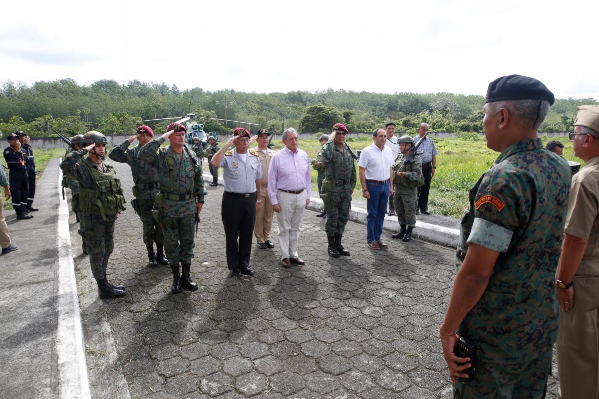 Fuerzas especiales de Ecuador entrenan en Israel tras reacercamiento bilateral