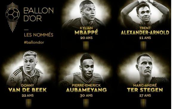 El Liverpool lidera las candidaturas al Balón de Oro