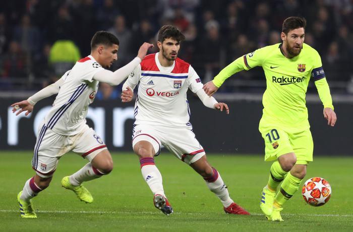 En vivo: Lyon 0-0 Barcelona