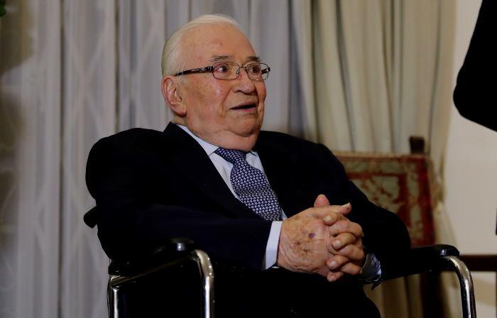 El expresidente Betancur, nacido el 4 de febrero de 1923 en Amagá, Antioquia, fue el primer mandatario colombiano en intentar poner en marcha un proceso de paz con los grupos guerrilleros que operaban en el país.//EFE