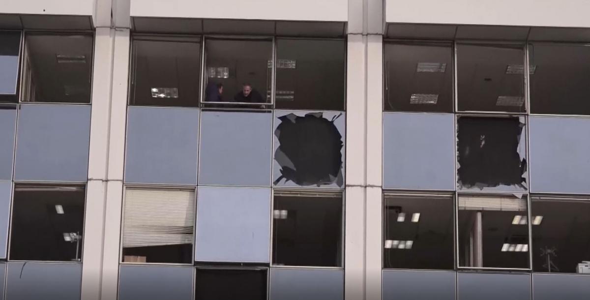 Bomba en Atenas