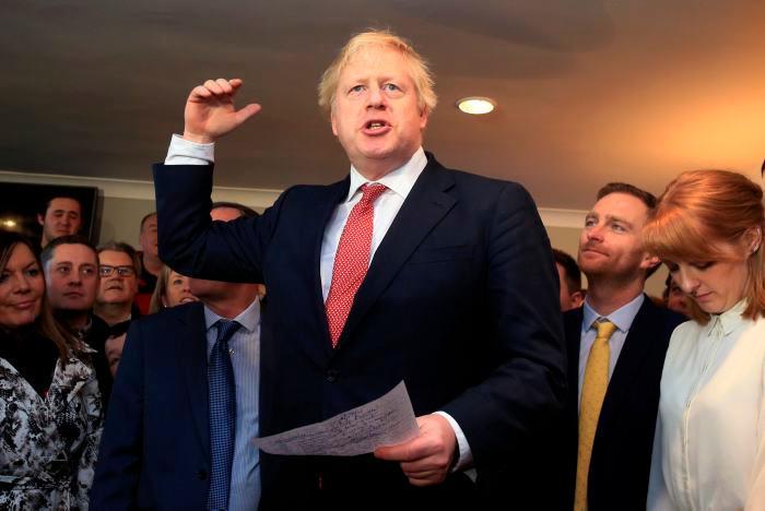 El nuevo Primer Ministro de Gran Bretaña, Boris Johnson. // AP.
