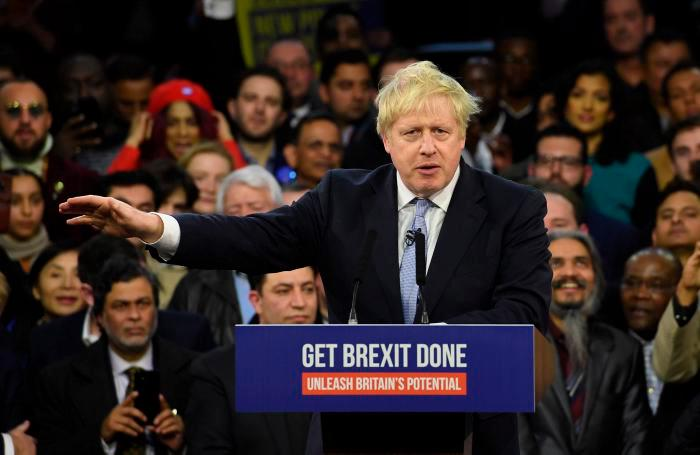 Para obtener la mayoría absoluta, Johnson necesitará 326 escaños. // EFE