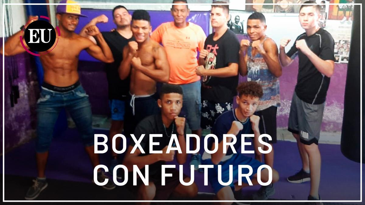 [Video] Jóvenes boxeadores entrenan en un pequeño gimnasio de Cartagena