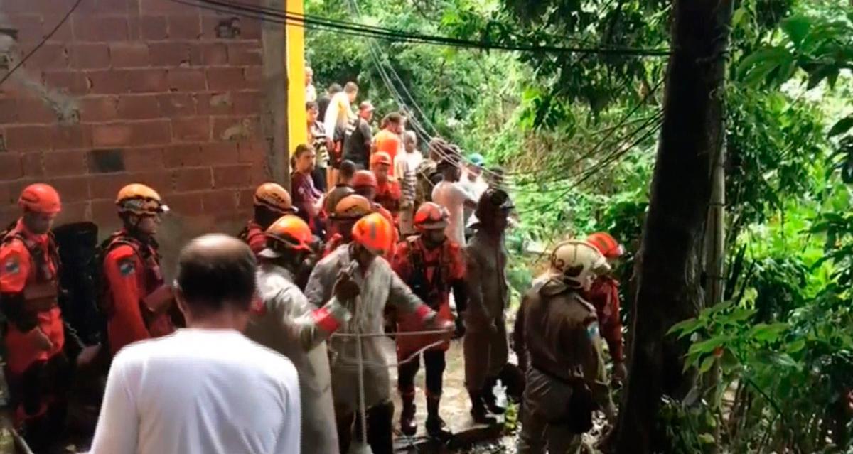 Al menos tres muertos dejan los temporales en Río de Janeiro