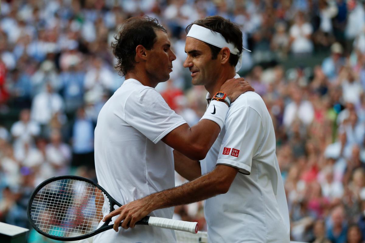 Federer jugará este domingo la final contra Djokovic. //AP