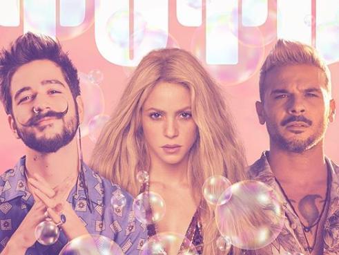 ¡Confirmado! Camilo y Shakira anuncian remix de 'Tutu'