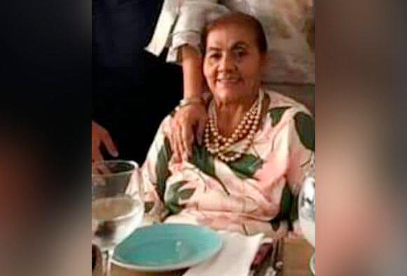 Carmen Herrera de Morales, comerciante asesinada.