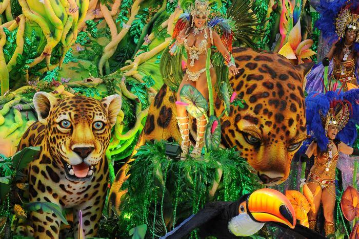 Brasil se prepara para el carnaval de Río de Janeiro