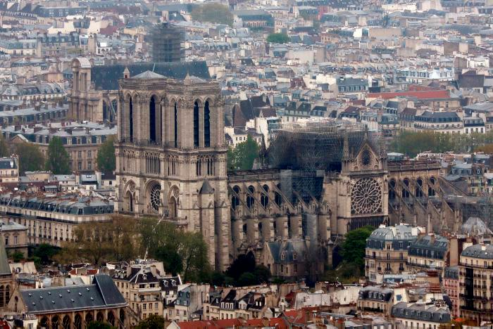 Notre Dame se salvó por media hora: gobierno francés