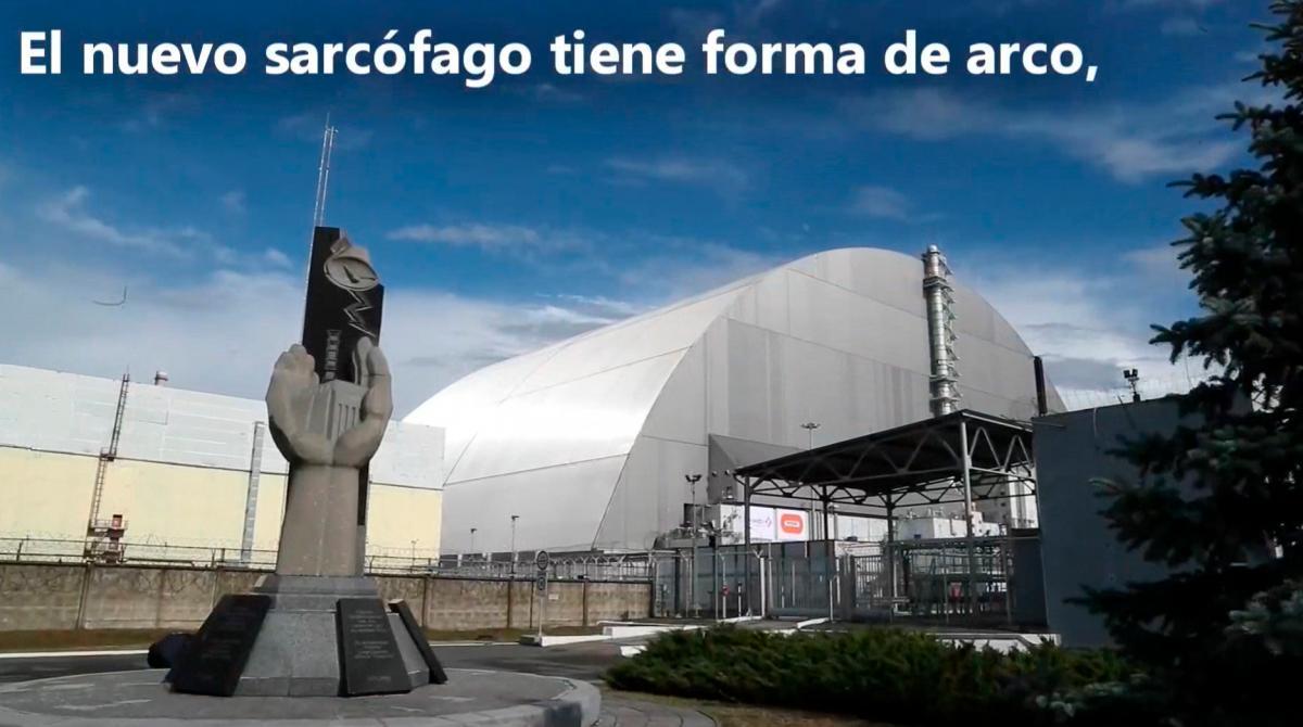 Un nuevo sarcófago para Chernóbil