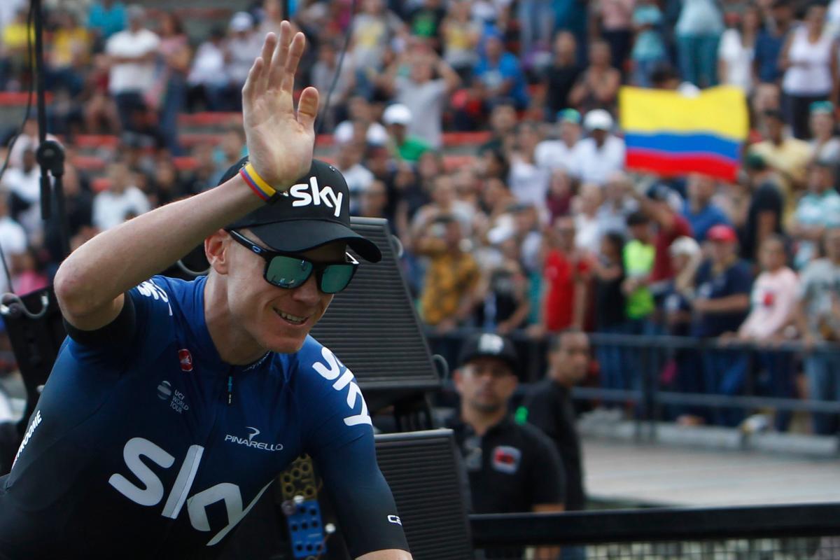 Froome, Quintana y Urán emocionan en la antesala del Tour Colombia