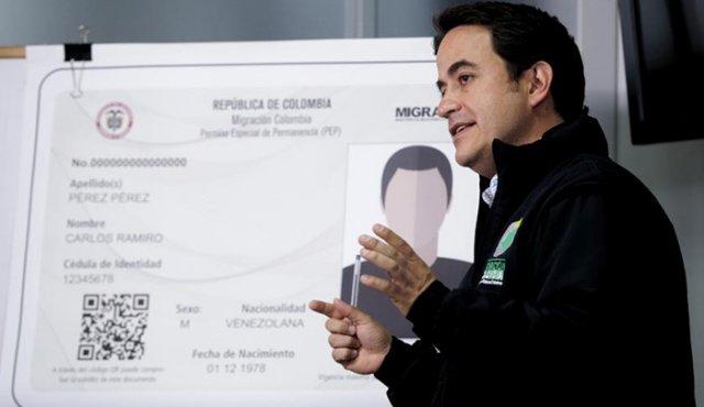Director de Migración Colombia, Christian Krüger Sarmiento.