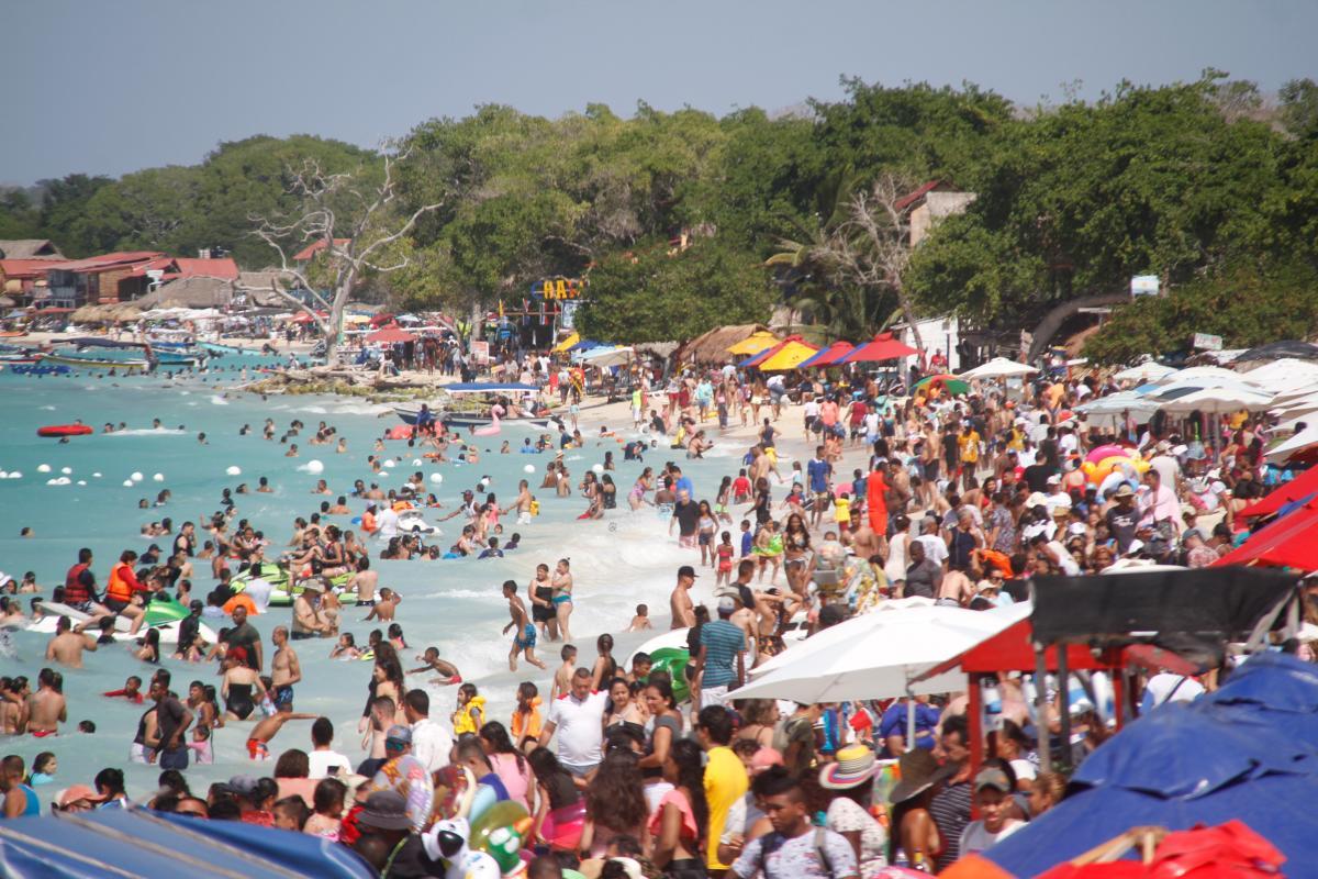 La Alcaldía de Cartagena propuso un cierre por dos semanas, sin embargo, esto aún no es un hecho. // Foto: Luis Eduardo Herrán Alvarez.