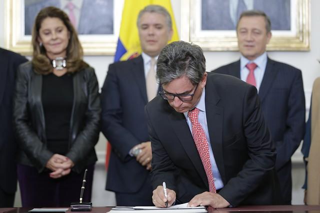 Ministro de Hacienda, Alberto Carrasquilla. // Colprensa