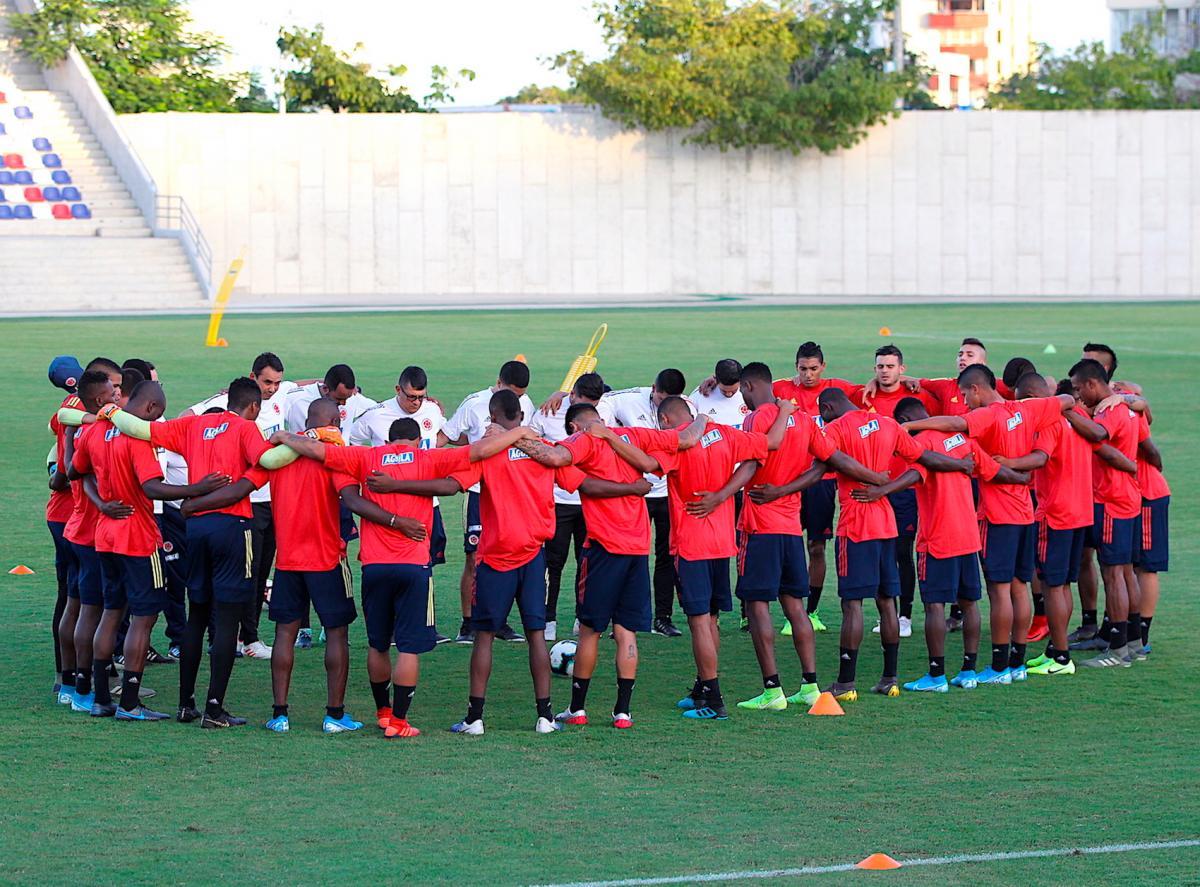 Selección Colombia Sub 23. (Colprensa-Greisy Bettin R. (Colprensa).
