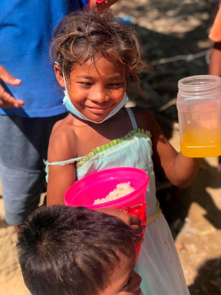 La comida no se desperdicia: les salva la vida