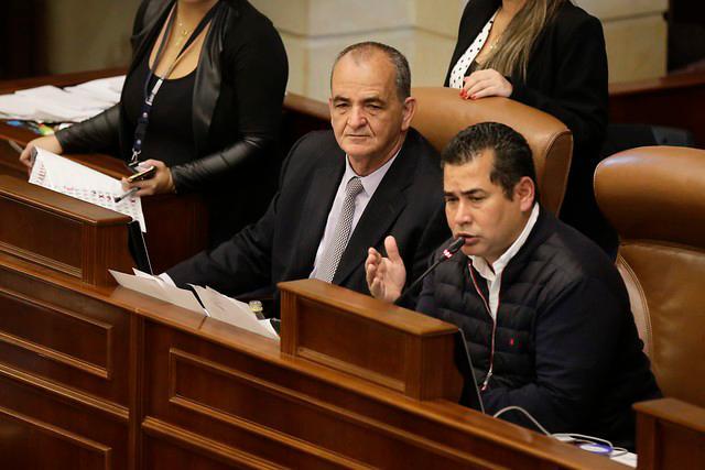 Presidente de la Cámara, Alejandro Carlos Chacón. // Colprensa