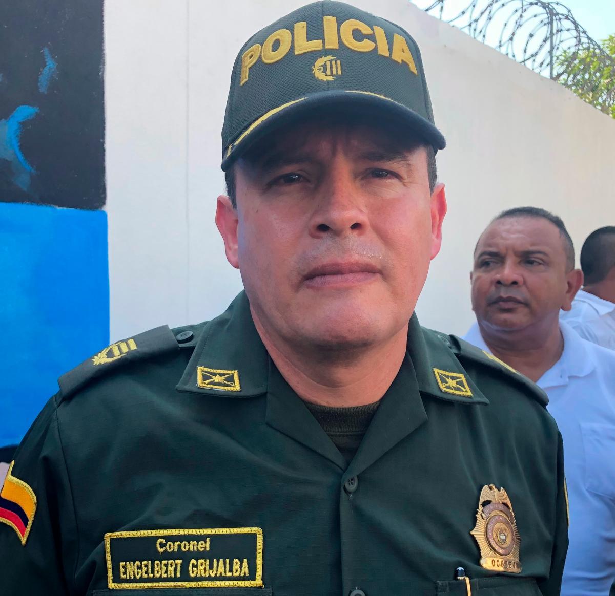 Coronel Engelbert Grijalba. // Cortesía